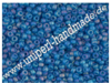 MR-11-0149FR Miyuki Seed Beads 11/0 (2,0 mm), Matted Transparent Capri Blue AB