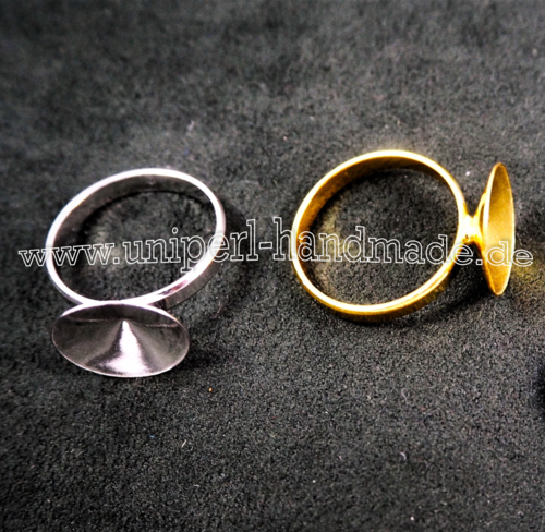 Ring for Swarovski Rivoli 1122 - 14 mm