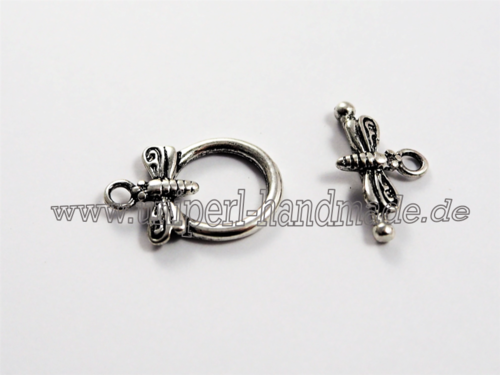 Toggle Clasp Little Dragonfly