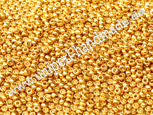 MR-15-4202 Miyuki Seed Beads 15/0 (1,5 mm), Duracoat Galvanized Gold