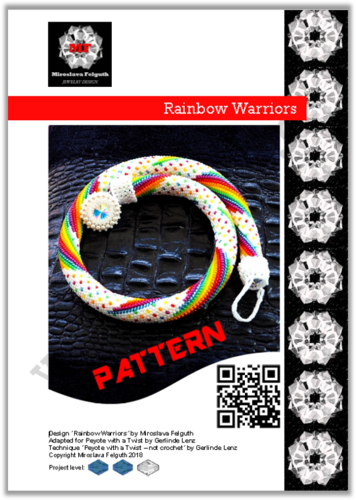 Rainbow Warriors - Peytwist Rope, Pattern