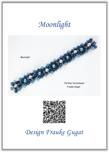 Moonlight - Bracelet, Tutorial