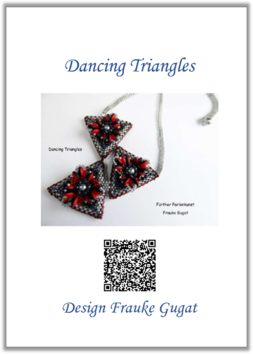 Dancing Triangles - Halskette, Anleitung