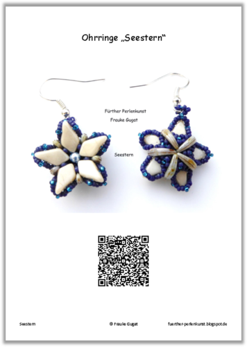 Starfish - Earrings, Tutorial