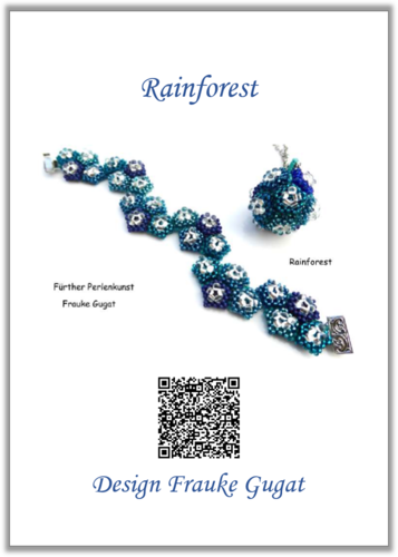 Rainforest - Bracelet and Pendant, Tutorial
