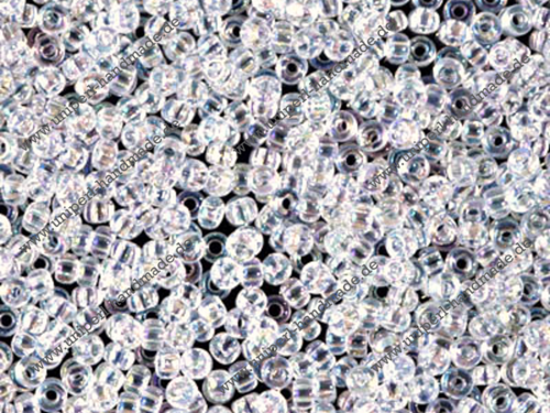 MR-11-0250 Miyuki Rocailles 11/0 (2,0 mm), Crystal Transparent Rainbow