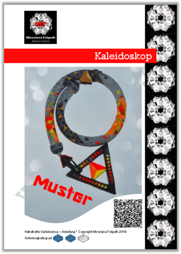 Kaleidoscope - Crochet Rope, Pattern for advanced beaders