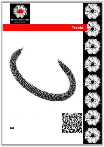 Urania, Kit, Necklace, Peytwist