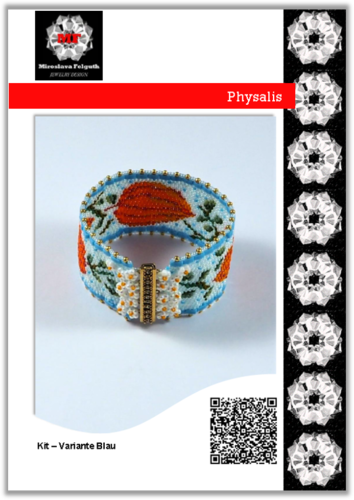 Physalis - Armband, Kit